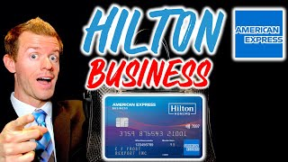 HILTON HONORS BUSINESS CARD Review Amex Business Credit Card for Travel