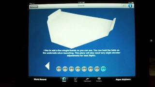 World Record Paper Airplane App