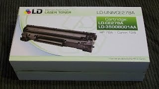 Unboxing: LD Remanufactured HP 78A Toner Cartridges (2 Pack)