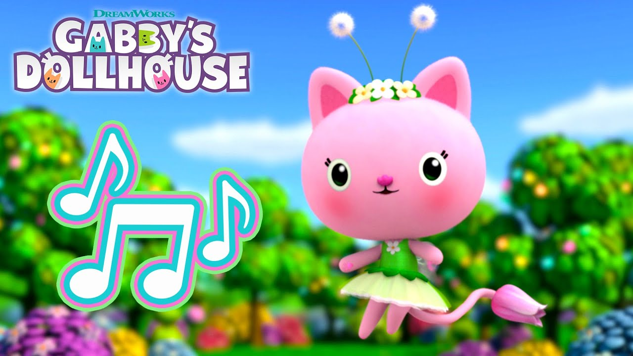 Download Kitty Fairy - Cat of the Day Song | GABBY'S DOLLHOUSE | NETFLIX