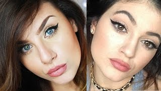 KYLIE JENNER Inspired Makeup Tutorial - 1995 Gerard Cosmetic Lipstick | None Fashion and Beauty Thumbnail