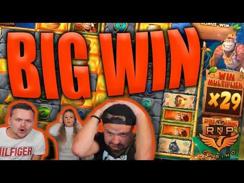 Huge Win on Return of Kong Megaways Slot - Casino Stream Big Wins - 동영상