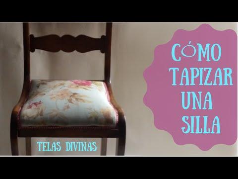 Relleno y tapizado doovi for Como tapizar una silla