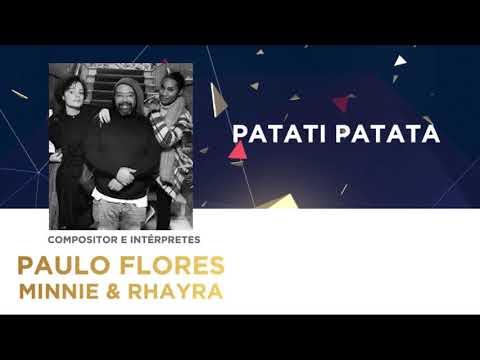 Patati Patata (45'') - Paulo Flores | Festival da Canção 2018