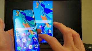 Huawei P30 Pro: How to Screen Mirror Wirelessly to LG Smart TV