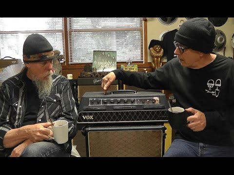 Doug and Pat on the amazing Vox AC10 SRT amplifier