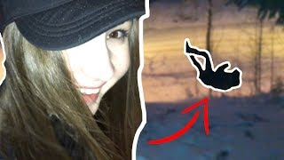 ME VS. BAE **IN THE SNOW** oops // SUOMI 100