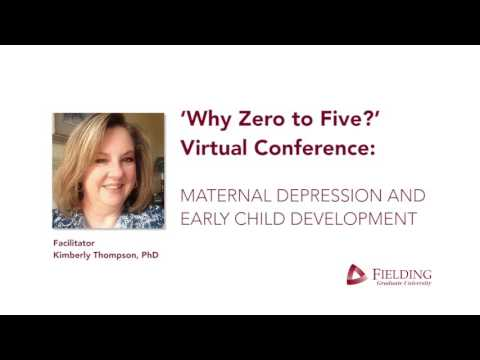 Why Zero to Five: Maternal Depression and Early Childhood Development