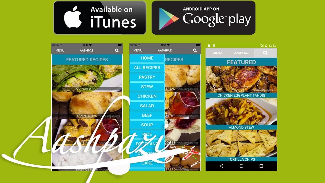 Aashpazi recipe app ios android 4k youtube aashpazi recipe app ios android 4k forumfinder Image collections