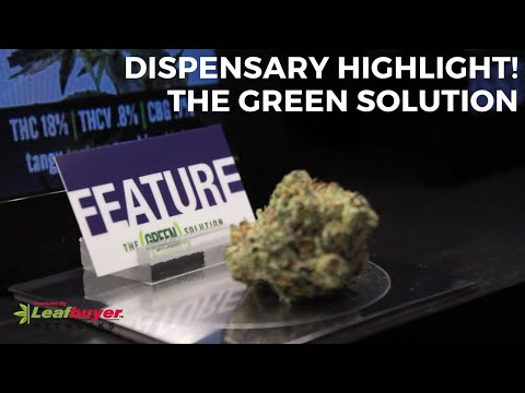 Dispensary Highlight - The Green Solution in Northglenn, Denver and Lakewood, Colorado