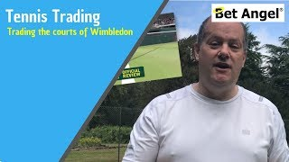 Betfair Tennis trading - Trading the Grass courts of Wimbledon
