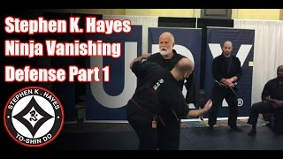 Grand Master Stephen K Hayes Ninja Vanishing Defense Part 1