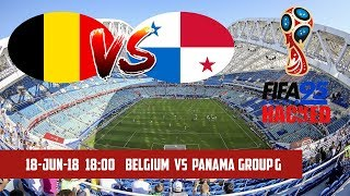 FIFA 95 HACKED – Belgium vs Panama | Group G | 2018 FIFA World Cup Simulation