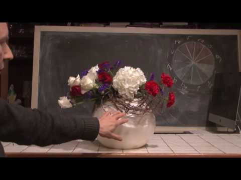 Flower Arrangments For July 4th