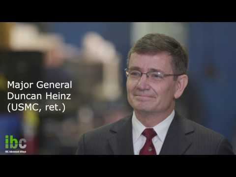 A Conversation with the General:  IBC's CEO Speaks to The Advanced Alloy Business and Leadership