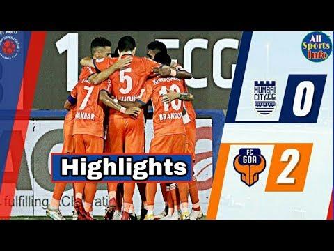 Mumbai City FC vs FC Goa Match Highlights & Analysis | Mumbai vs FC Goa |