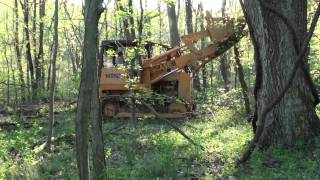 Driveway Work with the Crawler Loader