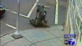 New Jersey Cop beats up Older Black man for standing on the corner.