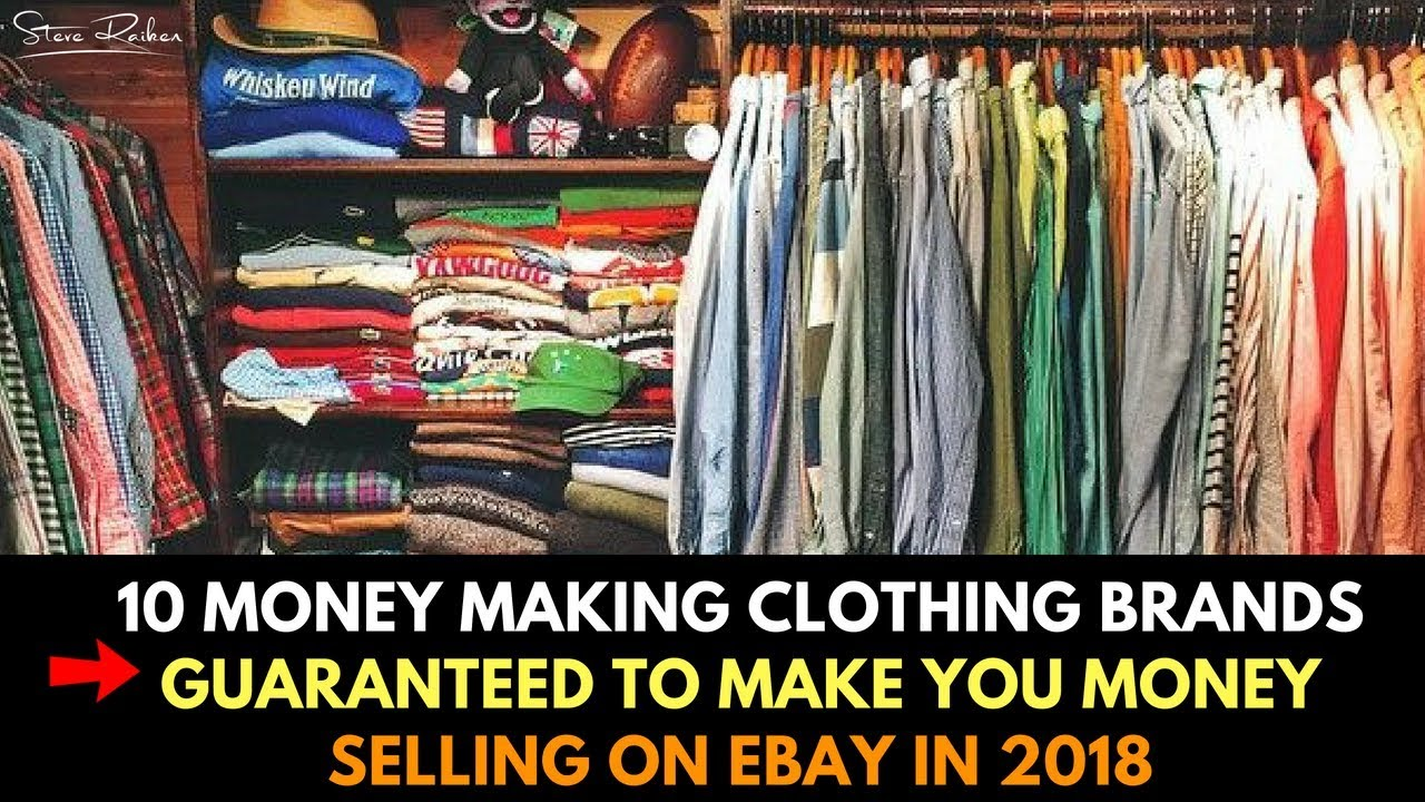4defdc0634b 10 Clothing Brands That Will Make You Money Selling on eBay in 2018 ...
