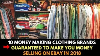 10 Clothing Brands That Will Make You Money Selling on eBay in 2018