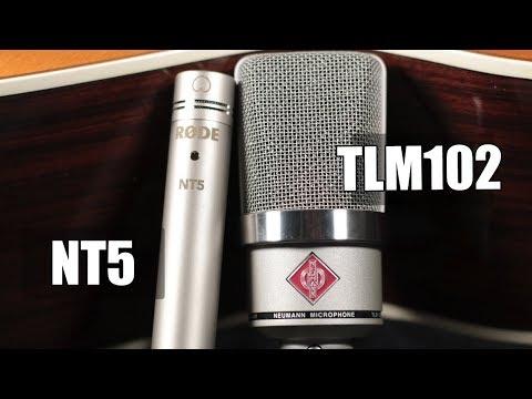 Neumann TLM 102 vs Rode NT5 (acoustic guitar) (pt.1)