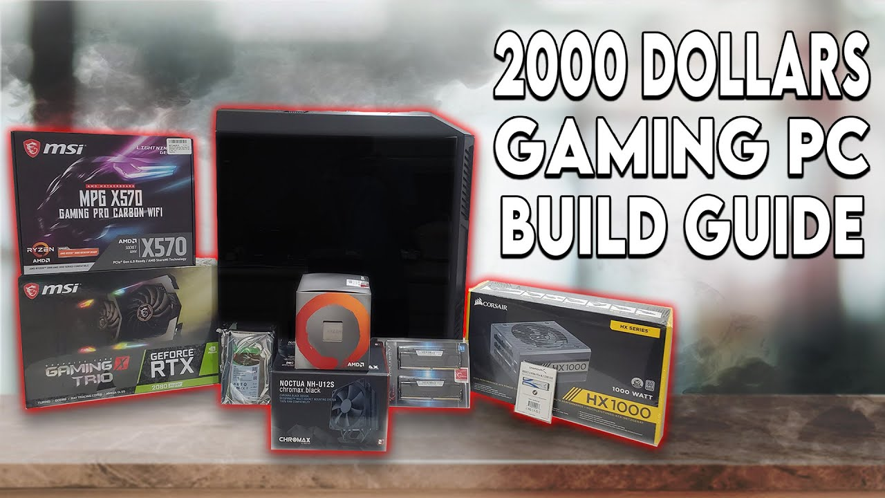 My First Gaming Pc 2000 Dream Gaming Pc Build 2020 Youtube