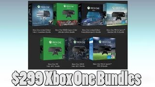 Xbox One Bundles Will Be 299 Dollars At All Retailers On Black Friday Weekend!