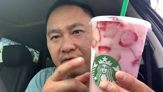 """TRYING OUT STARBUCKS SECRET DRINK """"PINK DRINK"""""""