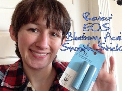 Review - EOS Blueberry Acai Smooth Stick Lip Balm