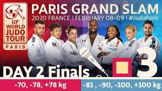 Judo Paris Grand Slam 2020: Day 2 - Finals Tatami 3