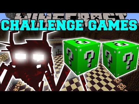 Minecraft: JUMPY BUG CHALLENGE GAMES - Lucky Block Mod - Modded Mini-Game