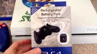 Venom Rechargeable battery pack for PS4 Dual Shock 4 controller Unboxing and review