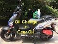 Kymco Agility 50 - Oil Change / Gear Oil Change