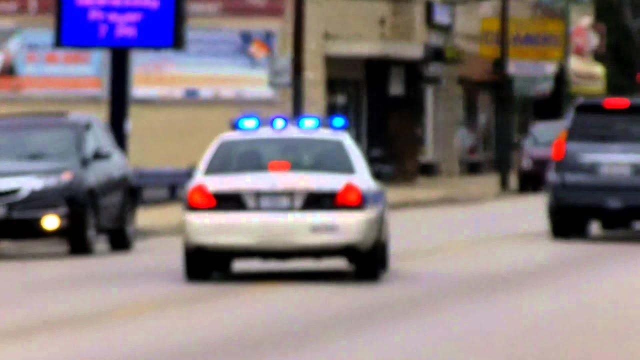 Chicago Police Cruiser Responding 9 20 2013 Youtube