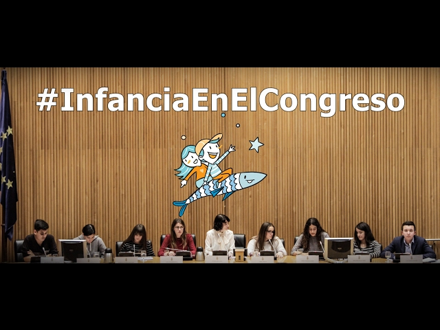 """Vídeo resumen de """"Infancia en el Congreso"""""""
