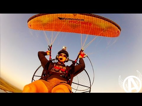 Adventures With Aviator - Flying With The Birds! Florida Paramotor Flights...