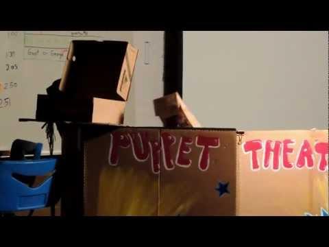 Pandora's Box Puppet Show - Marrion Elementary School