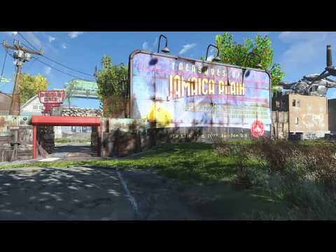 Fallout 4 ALL OF Jamaica Plain (PS4)