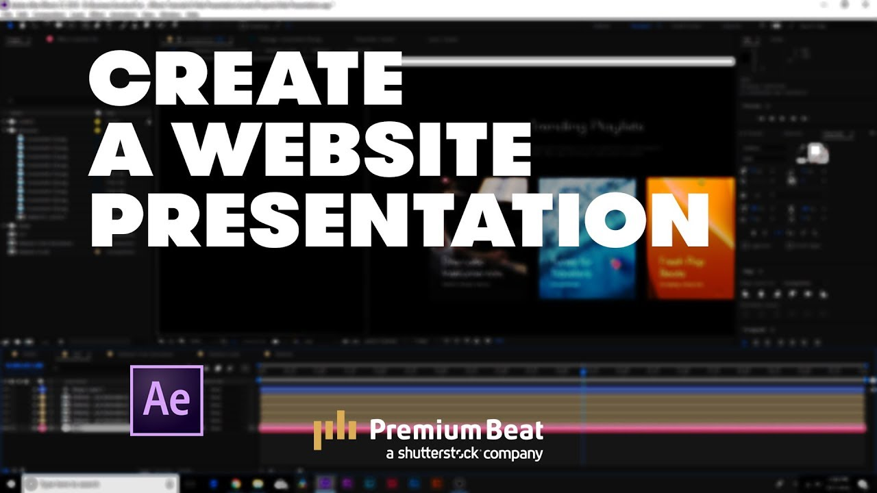 how to create an animated website presentation premiumbeat com