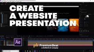 How To Create An Animated Website Presentation | PremiumBeat.com