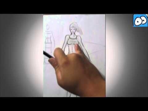 dibujo-comic---boceto-cuerpo-de-mujer---cartoonarte---dibujo-rapido,-ejercicio,-caricatura,anatomia