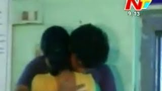 Lovers Creates High Drama in Kakinada Police Station - Ntv Telugu News