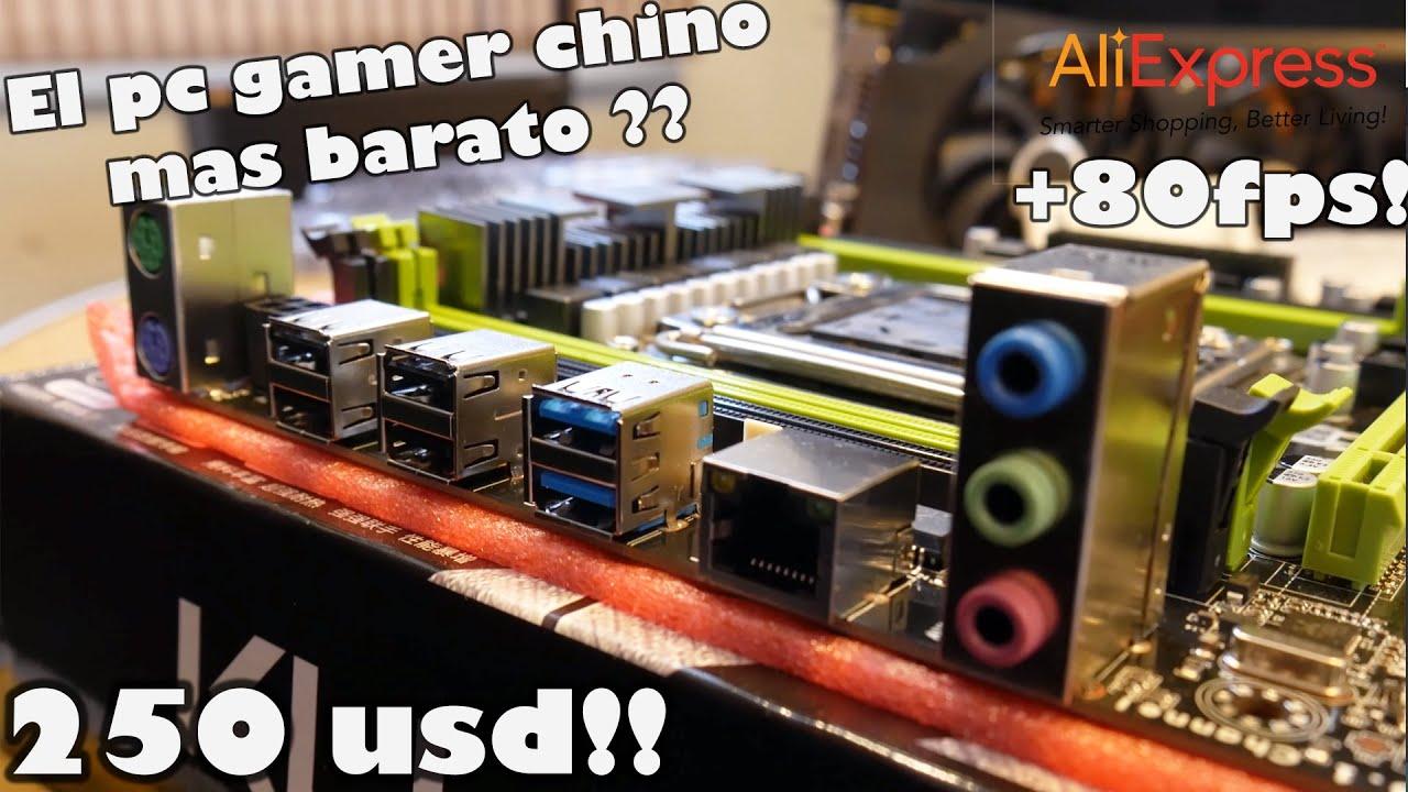 El Pc Gamer Chino mas Economico, armado con piezas de Aliexpress?
