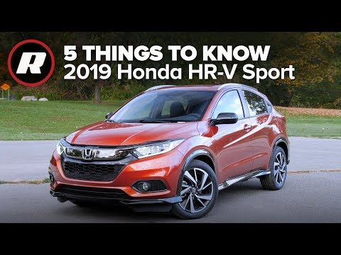 2019 Honda HR-V Sport: Five things you need to know