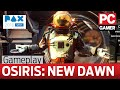 watch he video of Osiris: New Dawn gameplay - marooned on an arid alien planet