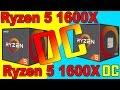 RYZEN 1600X STOCK  VS  RYZEN 1600X OC 4.0GHz  |  OVERCLOCKED COMPARISON