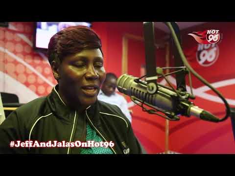 Kenyan FIFA female accredited referee, Tabitha Wambui, in studio Part 1