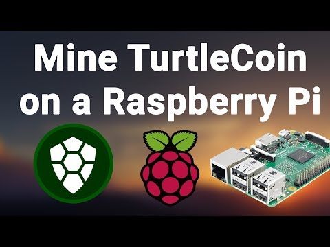 How to mine TurtleCoin on a Raspberry Pi