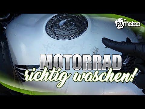 Motorrad waschen | Motorradwäsche Tipps & Tricks | Honda CBR 600 F Sport