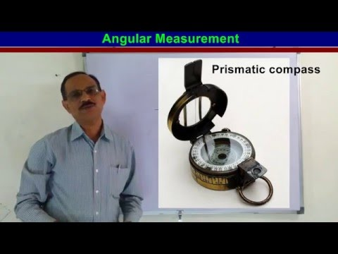 Angular Measurments Compass Surveying (हिन्दी में)